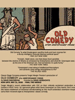 Old Comedy After Aristophane's Frogs